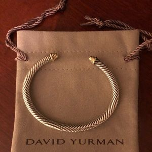 Authentic David Yurman Cable Classic gold 5mm